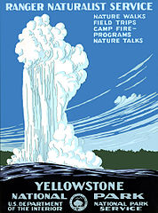Yellowstone National Park, Ranger Naturalist Service  Library of Congress Prints and Photographs Division Washington, D.C. 20540 USA